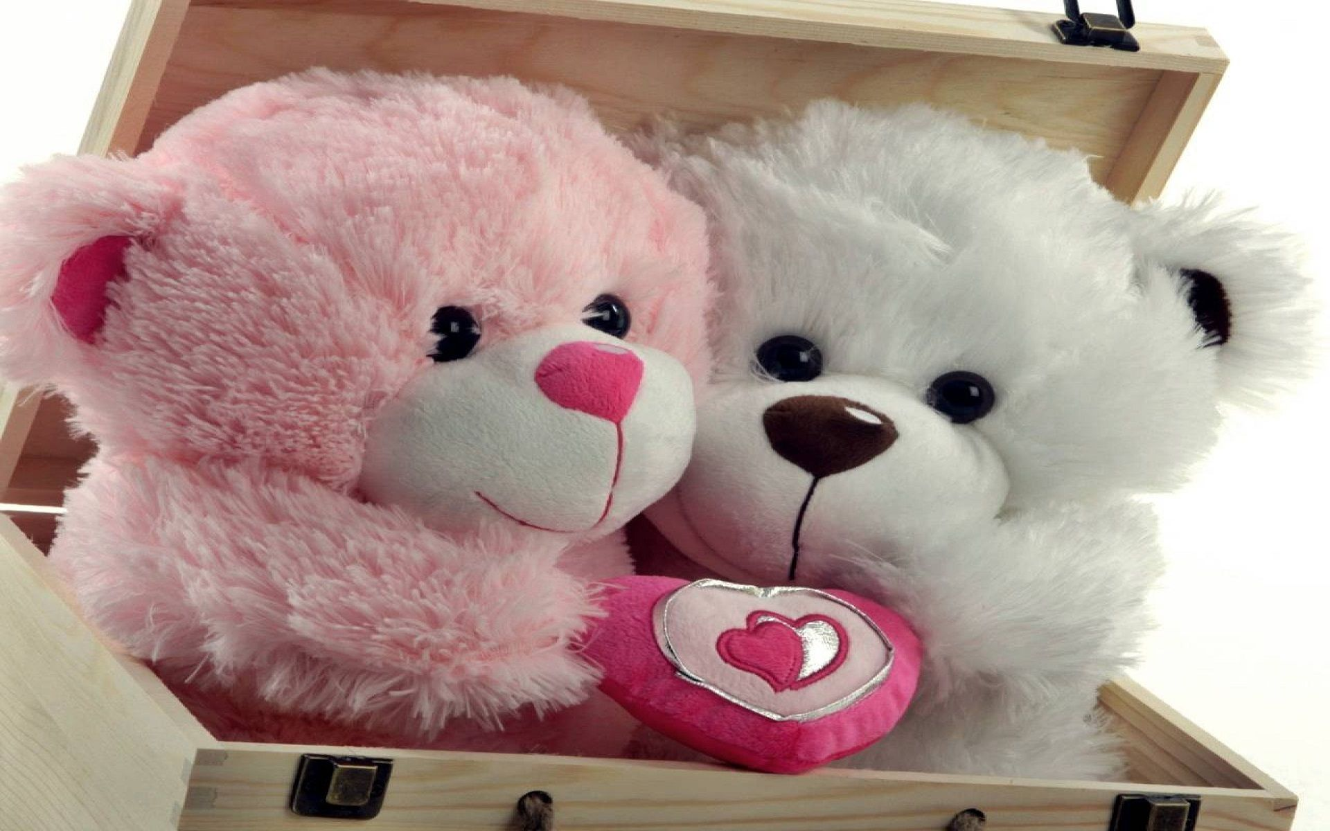 Cute Teddy Bears Love Couple And Hd Wallpaper On Pinterest