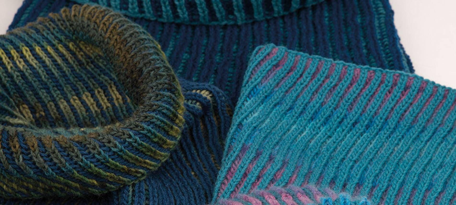 Photo of Strickanleitung Patentmuster in zwei Farben