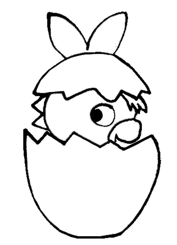 Pâques : les fiches à imprimer   Trotro rigolo, Dessin de pâques à imprimer et Oeufs de pâques à ...