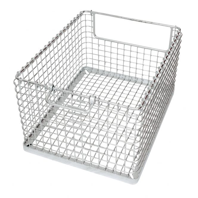 Stacking Mesh Baskets With End Openings