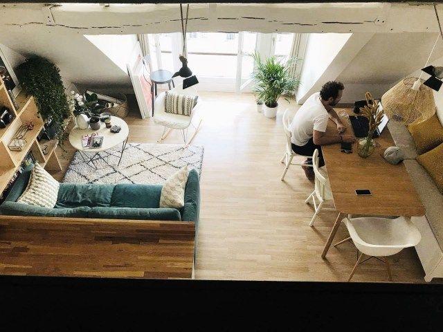 Comment cr er une chambre suppl mentaire dans un petit appartement paris sous les toits - Creer une cuisine dans un petit espace ...
