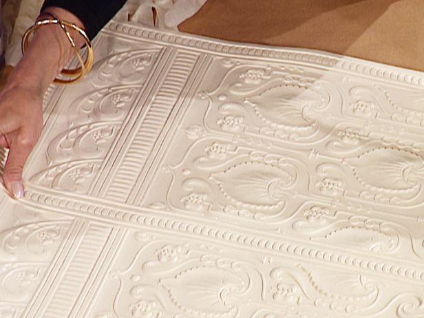 Projets Diy  Raliser Avec Du Papier Peint  Pose Papier Peint