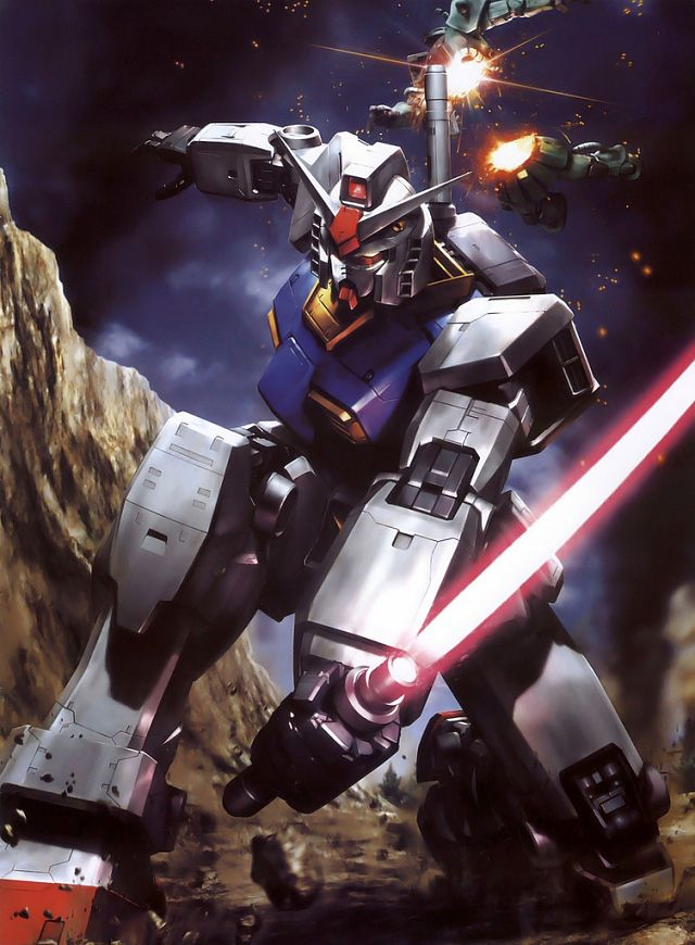 Mecha art by Naochika Morishita Pink Tentacle Gundam