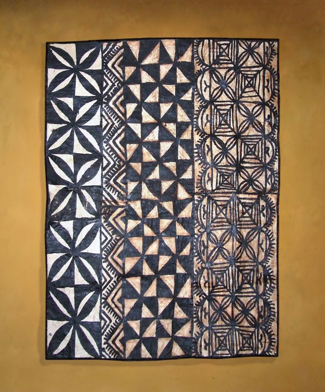 Tapa Cloths From The Pacific And Artwork Tapa Cloths