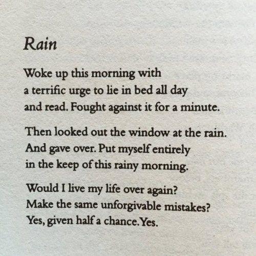 "Poems About Rainy Days: Themaninthegreenshirt: ""Raymond Carver """
