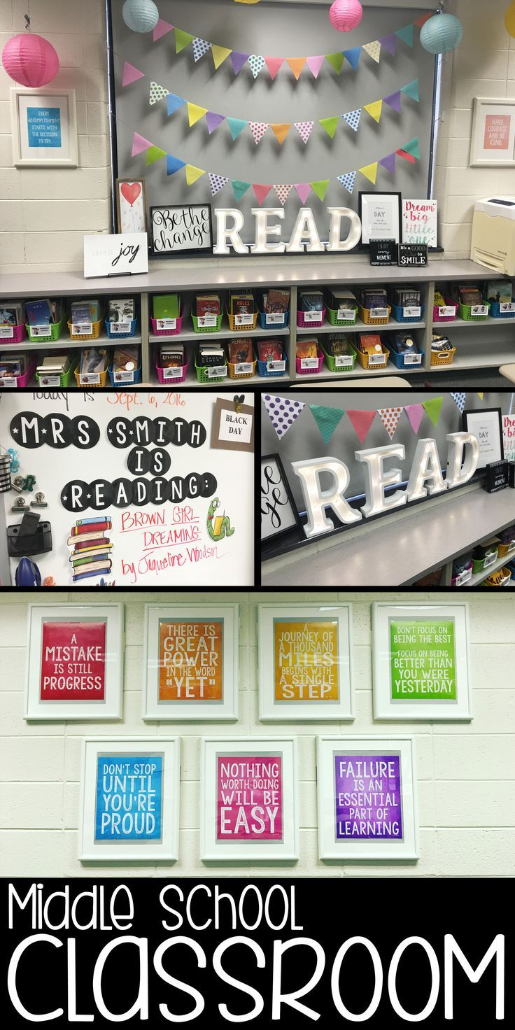 Middle School Reading Classroom Decorations ~ Back to school tpt misc lessons pinterest