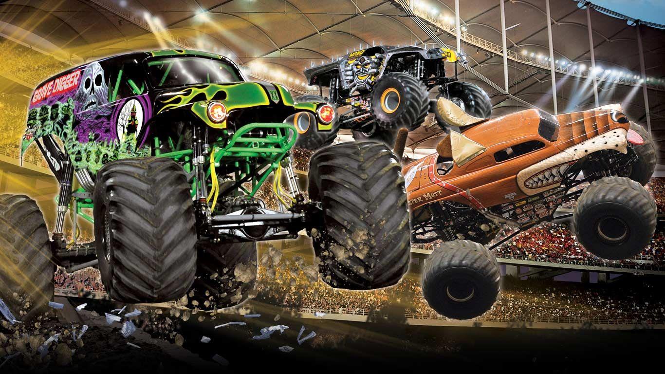 Cool Wallpaper Monster Jam Monster Trucks