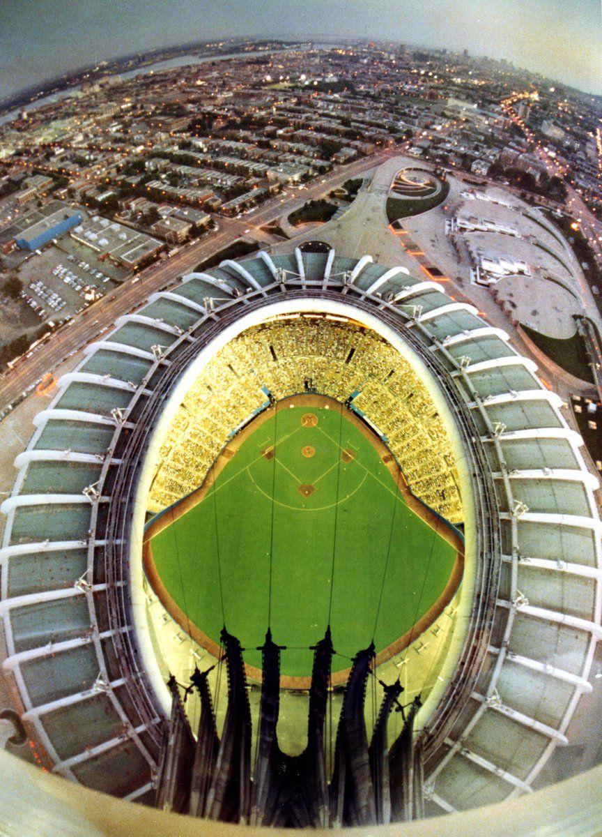 Stade Olympique De Montr 233 Al Toit Ouvert En 1990 1 Roof