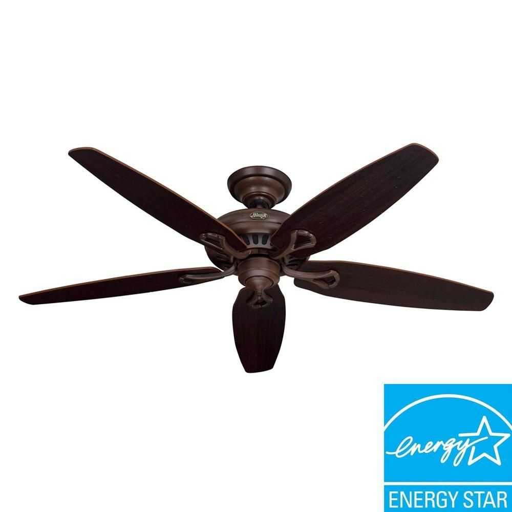 Hunter greenwich 56 in cocoa indoor ceiling fan 54072 the home cocoa indoor ceiling fan 54072 the home depot for aloadofball Image collections