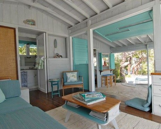Seashore Decor Aqua Beach Bungalow