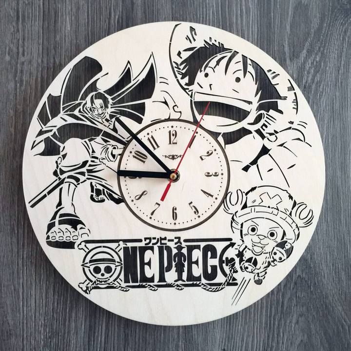 One Piece Wall Wood Clock Jam dinding, Kerajinan kayu
