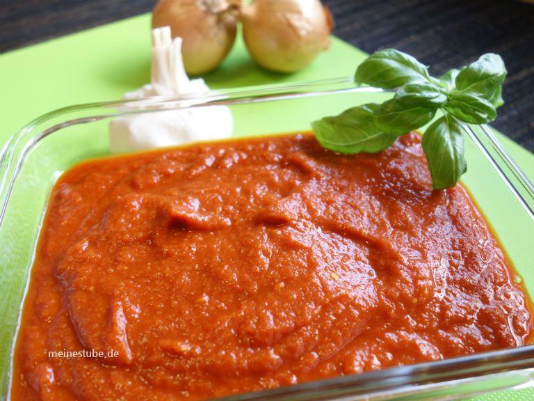 Pizzasauce Selber Machen Mit Frischen Bio Tomaten Meinestube Rezept Pizzasauce Kochen Und Backen Rezepte Tomatensosse Einkochen