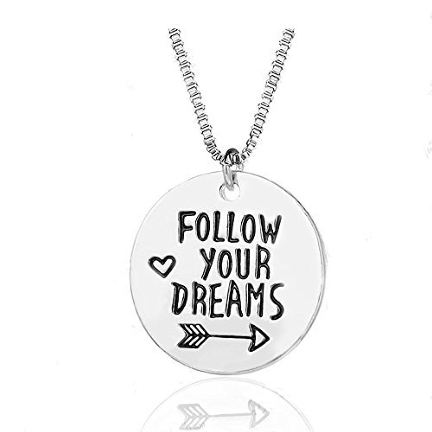 Inspirational Necklace for Women Teen Girls - Fashion ...