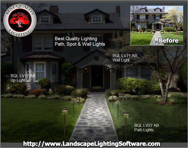 Best Quality Lighting Partners With Landscape Lighting Software This Allows Greenscapes To Download The Landscape Lighting Landscape Lighting Design Landscape