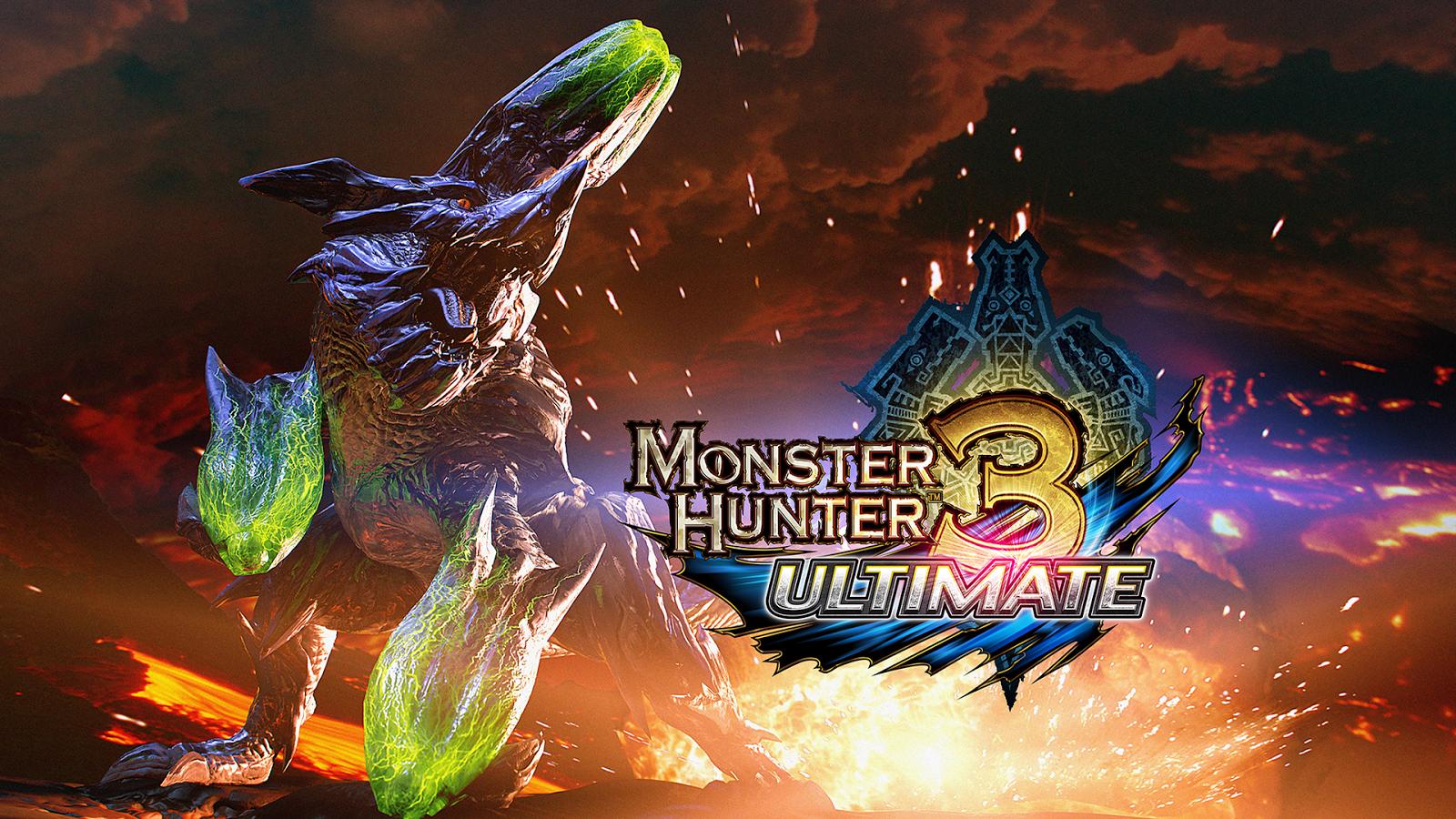 Monster Hunter 3 Ultimate Monster Hunter 3rd Monster Hunter 3 Ultimate Monster Hunter