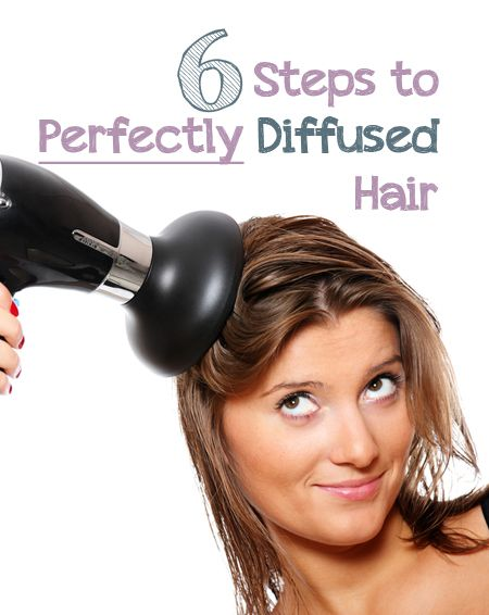 6 Steps To Perfectly Diffused Hair Hair Diffuser Hair Dryer Diffuser Hair