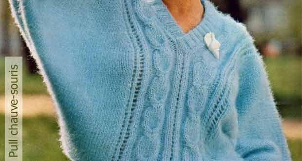 Pull chauve-souris | Pull chauve souris, Tricot, Blog de tricot