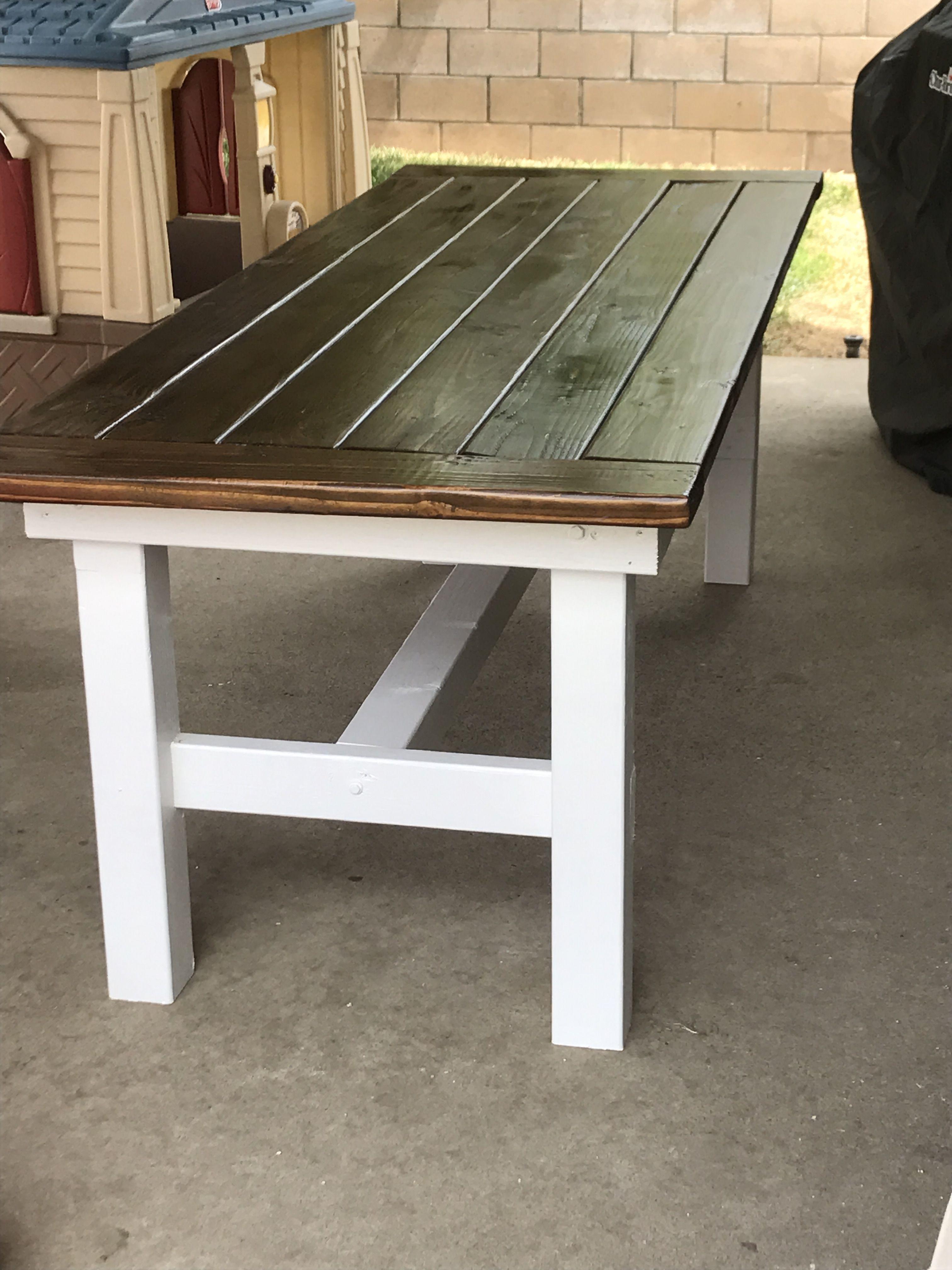 Table Banc De Cuisine farmhouse table | meuble bois, meuble et bois