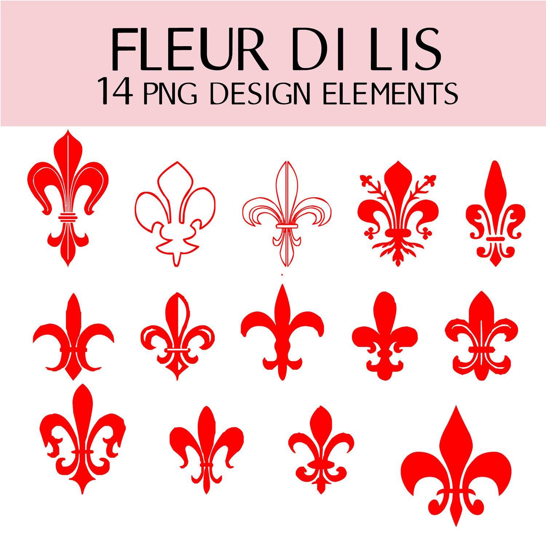 free french stencils fleur de lis clip art with seafood painted fleur de lis [ 1500 x 1500 Pixel ]