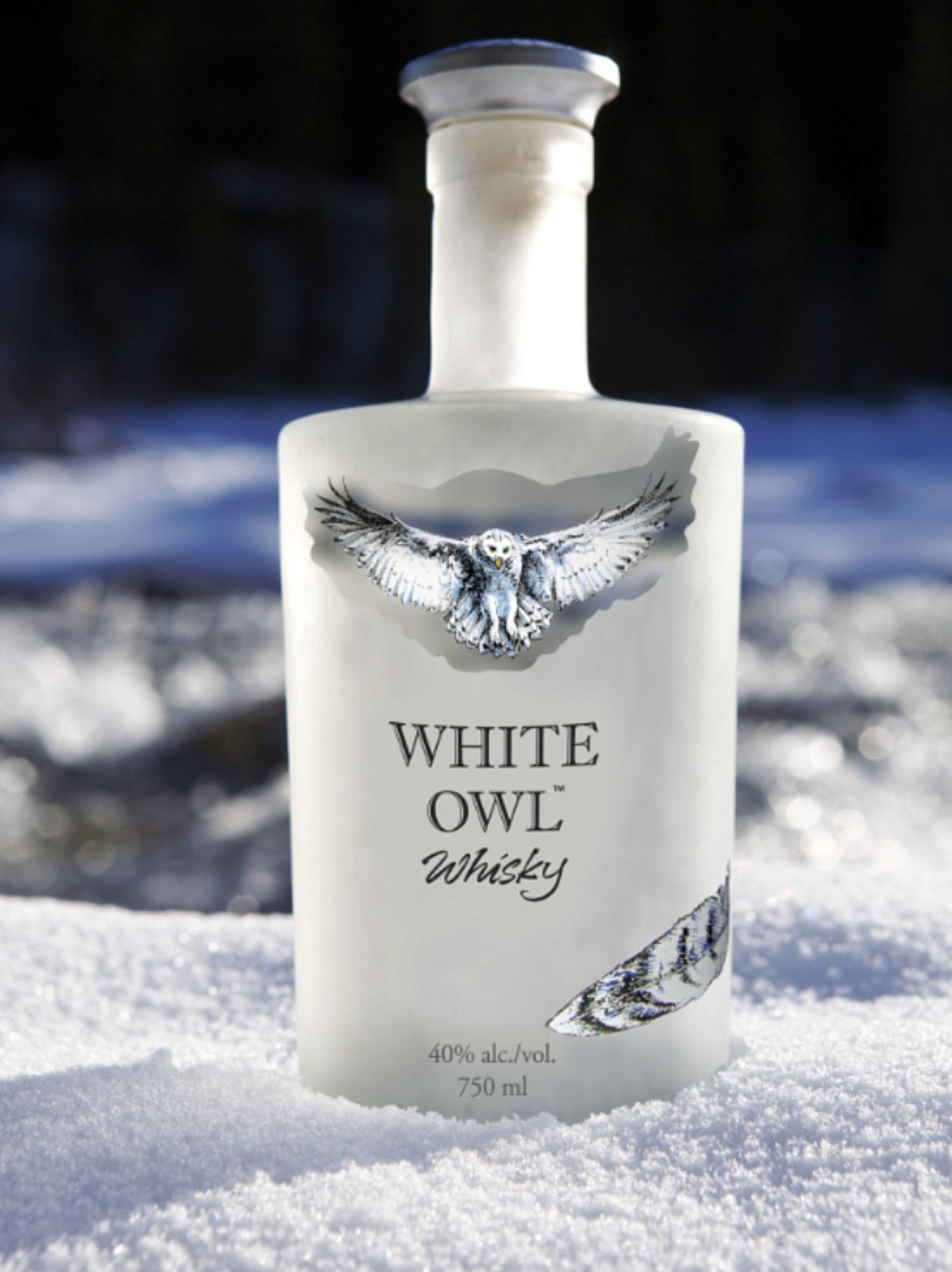 White Owl Whisky, Whisky blanc (white whisky), Highwood