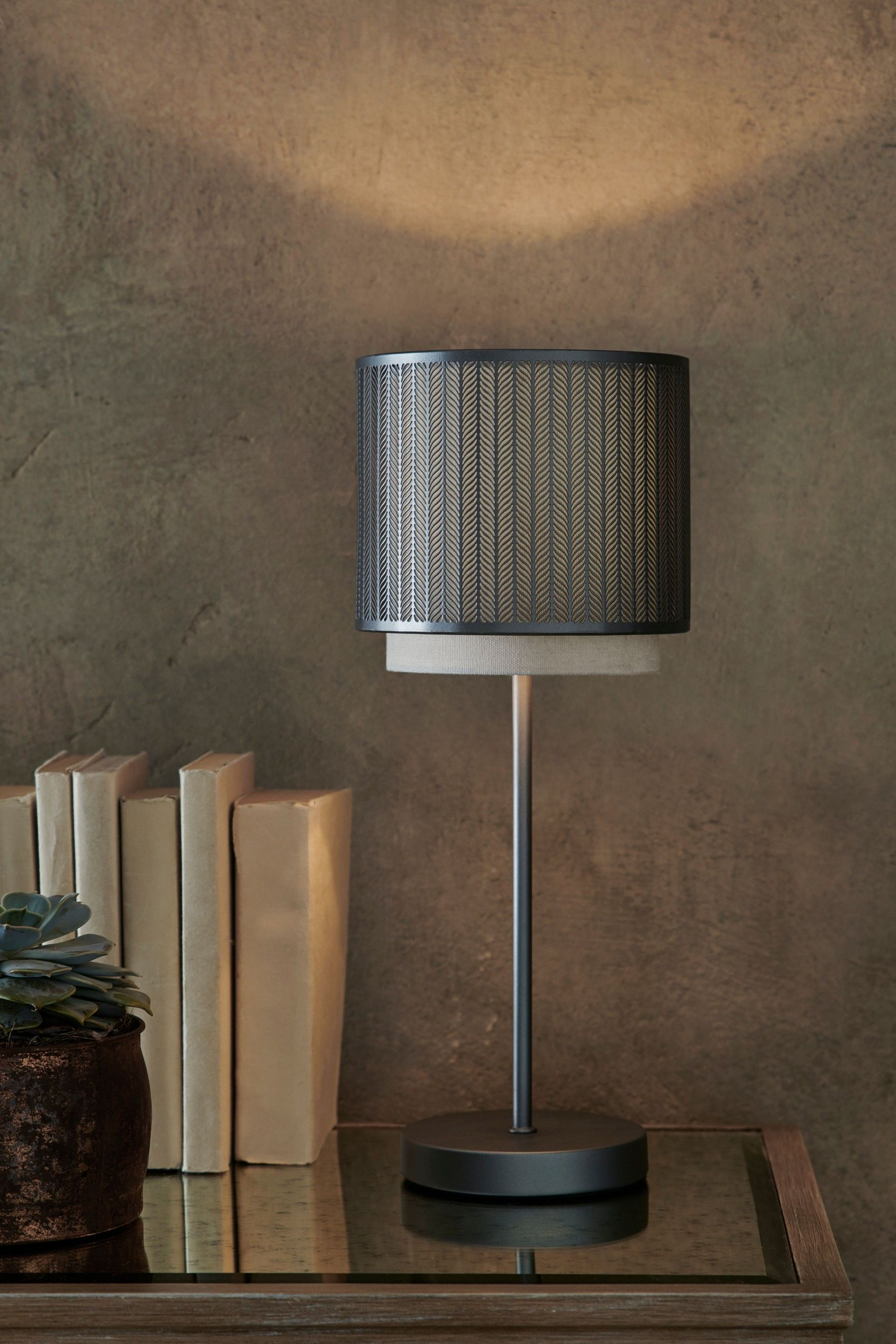Next Jada Touch Table Lamp Silver Table Lamp Touch Table Lamps Touch Table