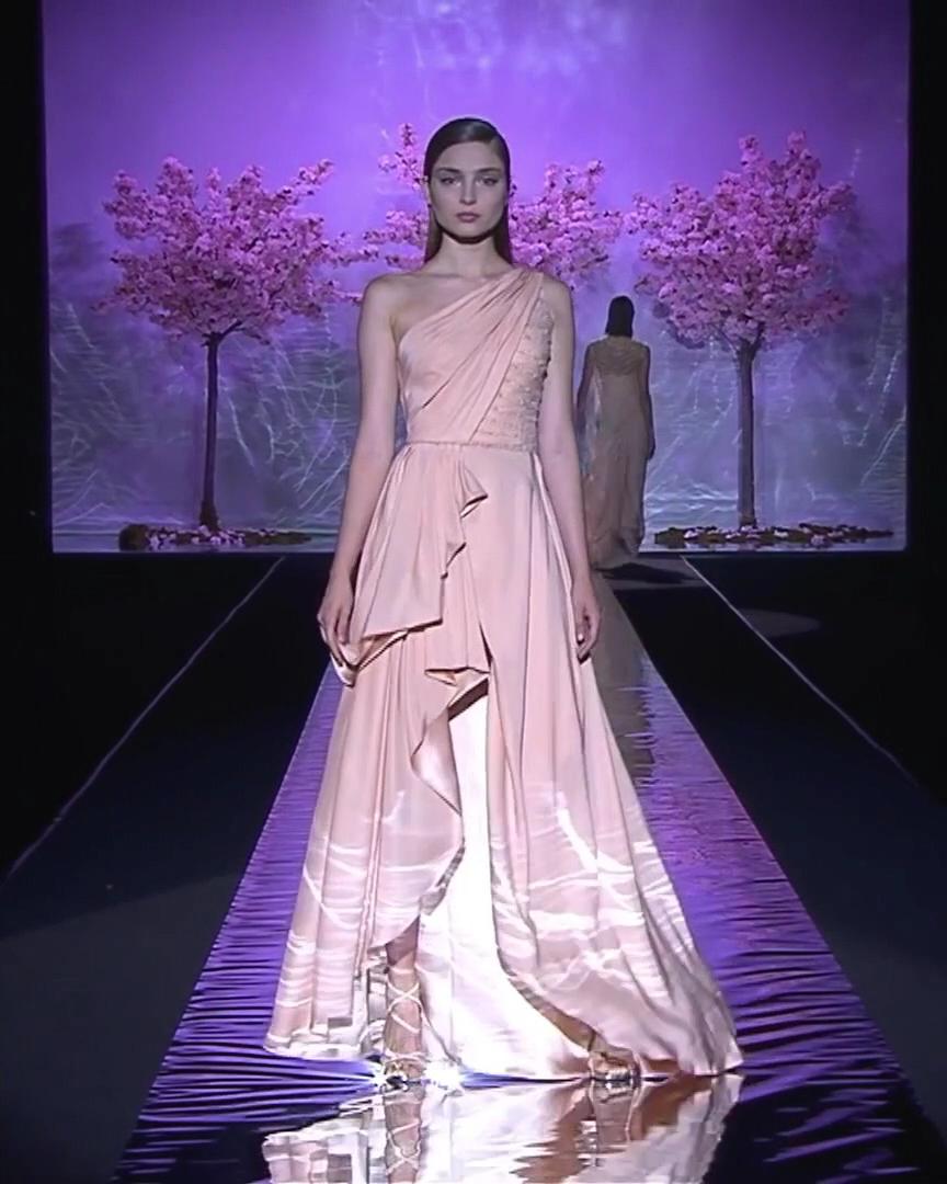 Hannibal Laguna Look 9. Spring Summer 2019 Couture