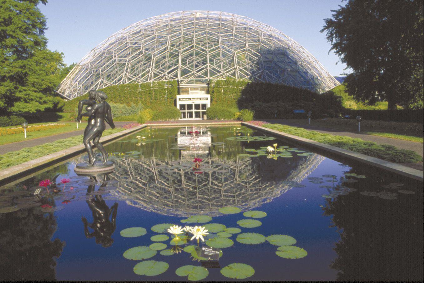 Missouri Botanical Garden Climatron in St Louis Missouri