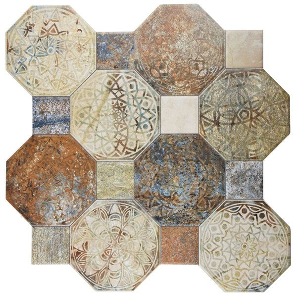 Somertile 1775x1775 Inch Silix Decor Ceramic Floor And Wall Tile
