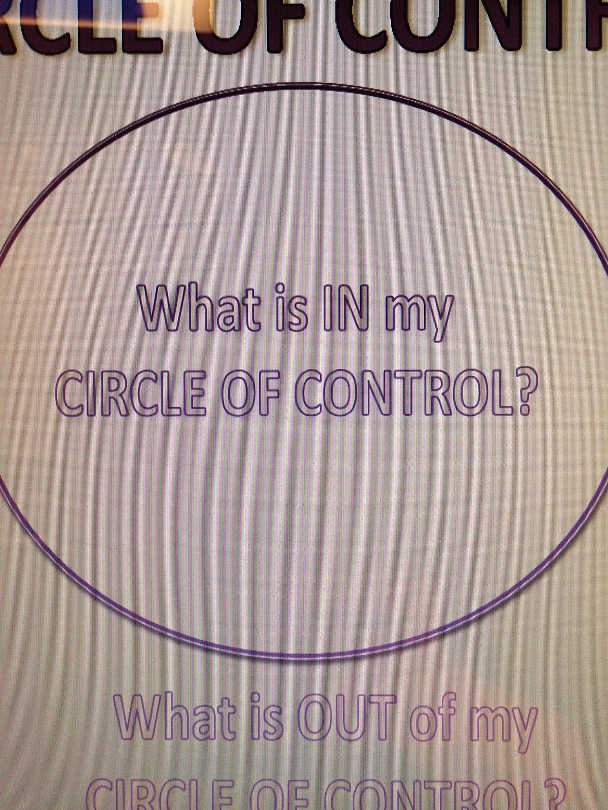 Free Printable Circle Of Control