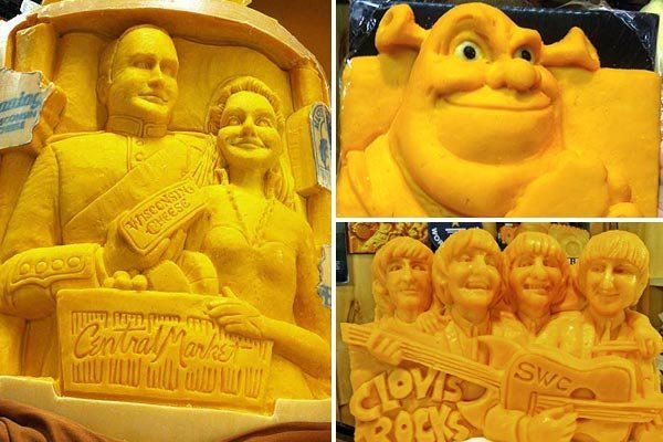 cheese sculptures - Google Search