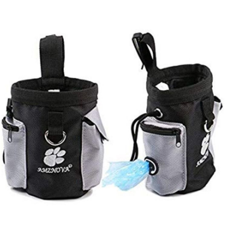 AMZNOVA Dog Treat Bag Pet Training Pouch Carries Little Toy Dog Food and Keys With Adjustable AMZNOVA Dog Treat Bag Pet Training Pouch Carries Little Toy Dog Food and Key...
