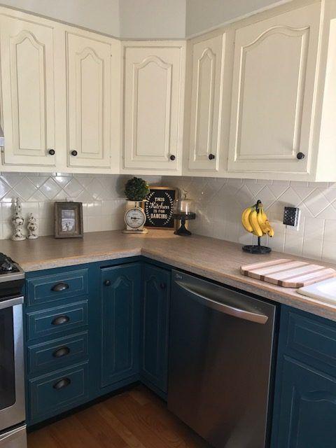 Modern Kitchen Furniture Chalk Paint, Annie Sloan Blue Kitchen Cabinets