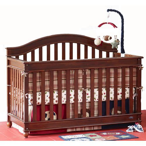 Europa Baby Palisades Lifetime Convertible Crib Cherry