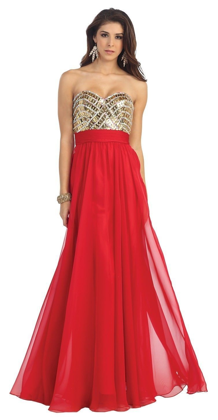 Strapless Sweetheart Long Sexy Prom Dresses Winter Formal Dresses