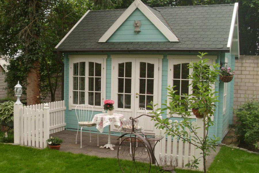 Gartenm bel gartenhaus 6 terrassengestaltungsideen stylecheck gartenm bel vintage shabby - Gartenhaus shabby chic ...
