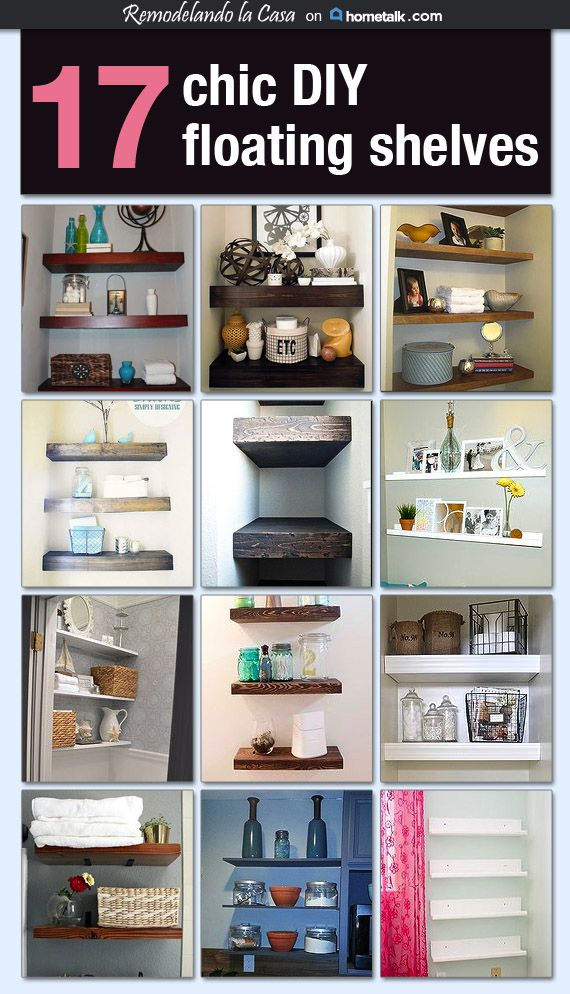 diy floating shelves on hometalk toilets closet and i love. Black Bedroom Furniture Sets. Home Design Ideas