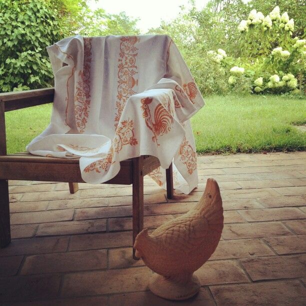 Block printed vintage linens traditional italian designs