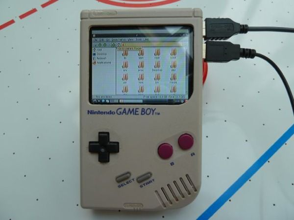 The GamePi – Raspberry Pi Game Boy case mod #piday #raspberrypi Raspberry Pi «…