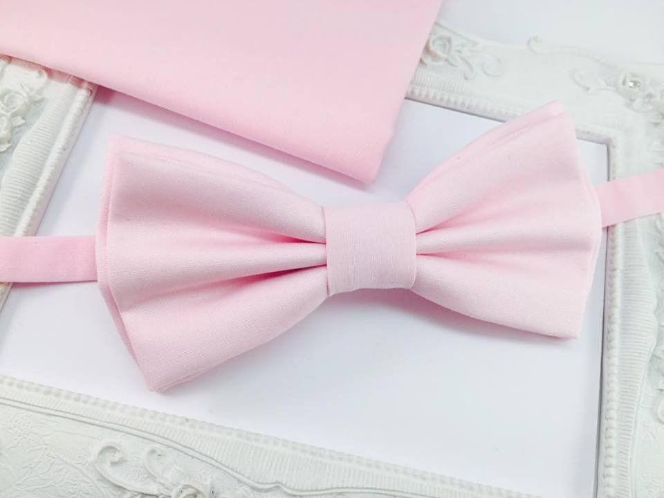 sélection mondiale de énorme réduction qualité parfaite Set Noeud Papillon Double et Pochette costume assortie rose ...