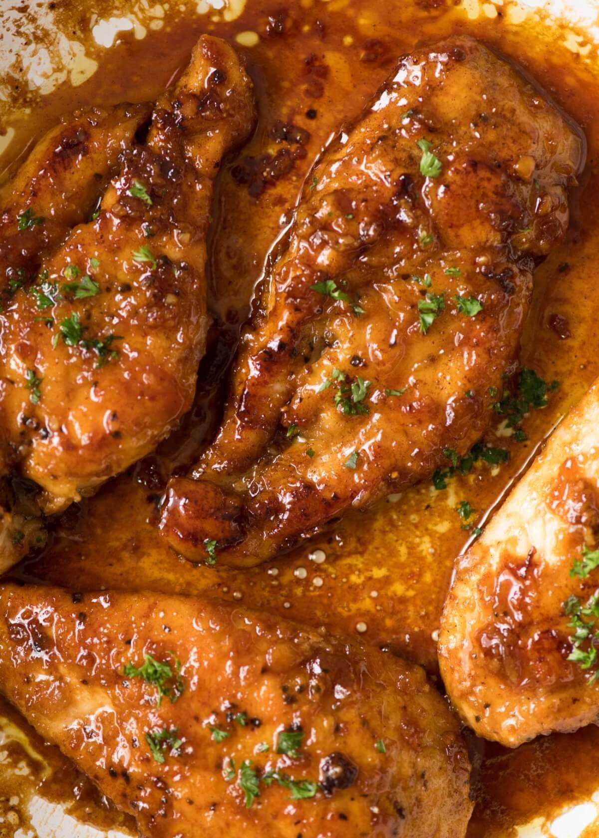 Honey Garlic Chicken Recipe