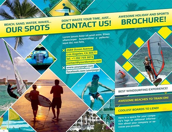 29+ Holiday Brochure Templates u2013 Free PSD, EPS, AI, InDesign, Word - brochure format word