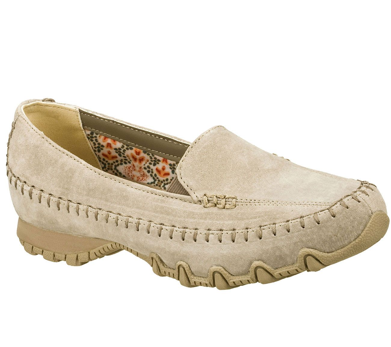 440a486791ae Keep walking in refined style and amazing comfort in the SKECHERS Relaxed  Fit®  Bikers - Pedestrian shoe. Soft suede upper in a slip on dress casual  comfort ...