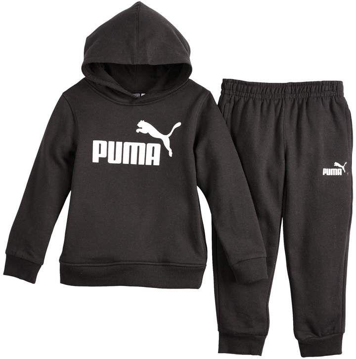 Boys 4 7 PUMA Logo Hoodie & Jogger Pants Set   Jogger pants