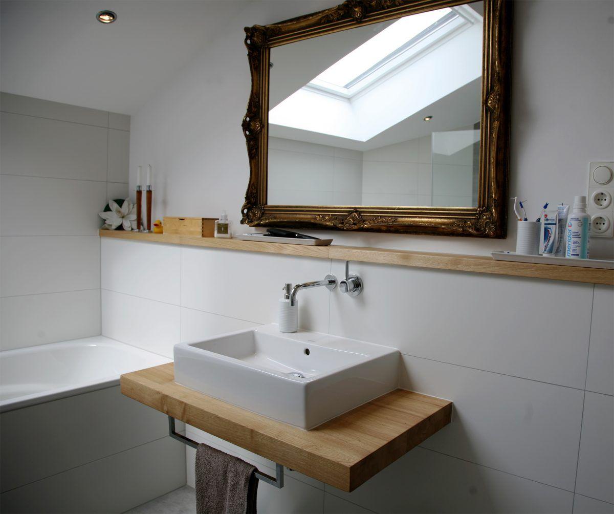 Holz Waschtischplatte 21 Gestaltungsideen Fur Angenehmes Ambiente Badezimmer Innendesign Zenideen Waschtischplatte Badezimmer Badezimmerideen