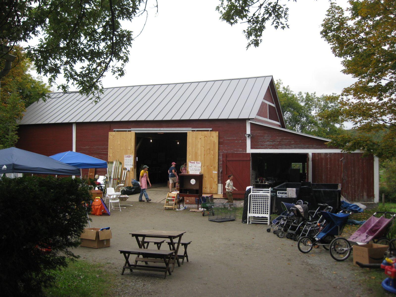 Yard Sale At Underhill Vt Harvest Festival Haunted