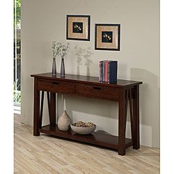 Ozark 2 Drawer Console Table