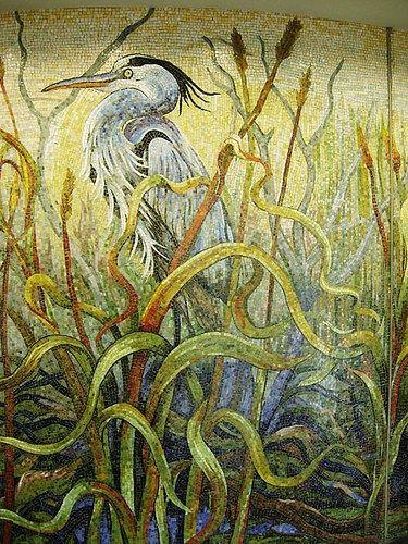 Mosaic Airport Mural – Houston Bayou – Mosaic Artist – Dixie Friend ...
