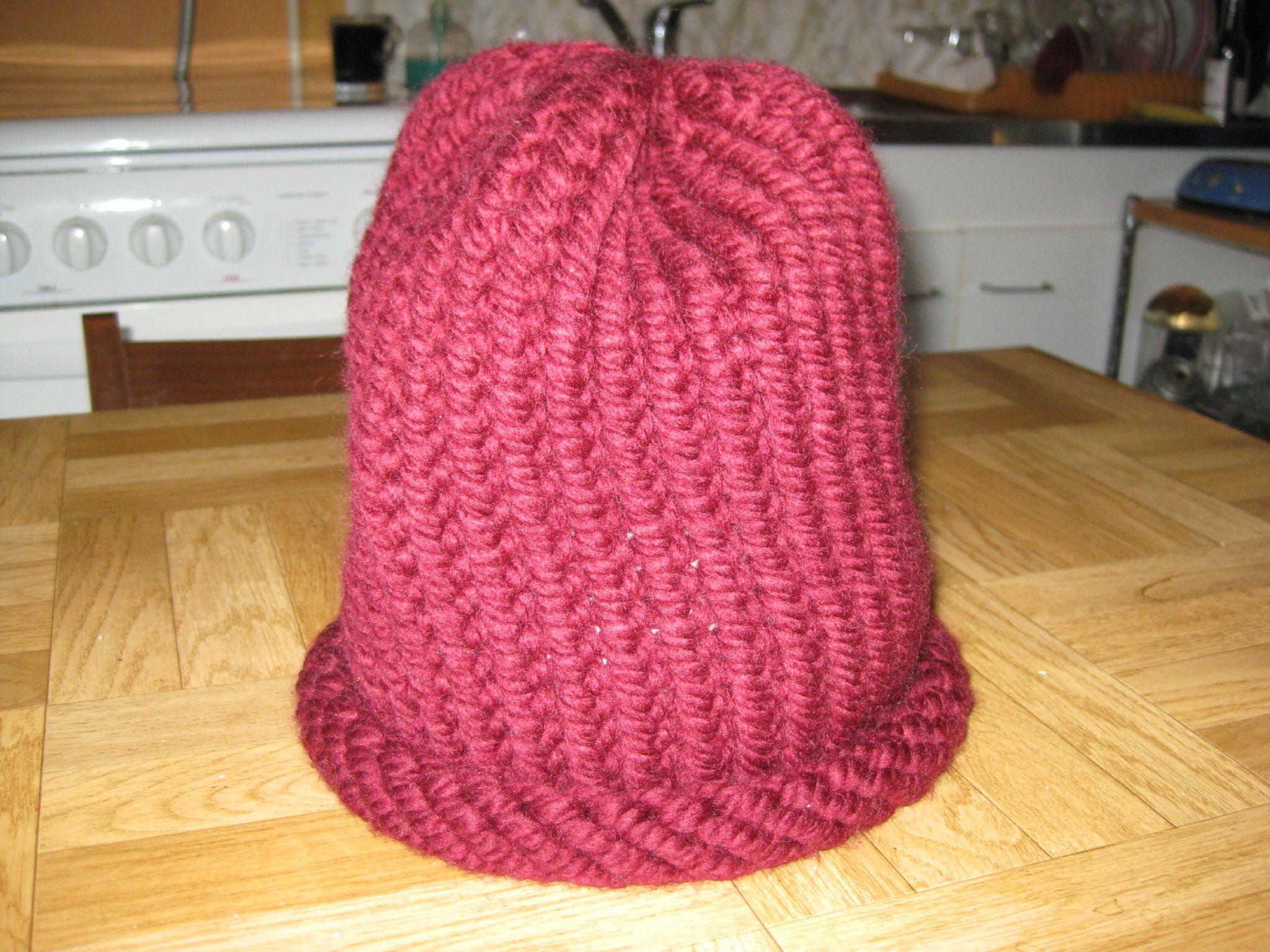 comment tricoter une tuque avec un tricotin | Bonnet tricotin circulaire