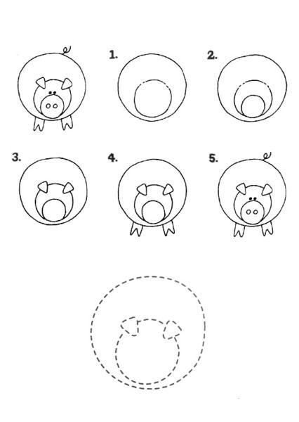 Nauka Rysowania Dla Dzieci Kolorowanki Dla Dzieci Proste Rysunki