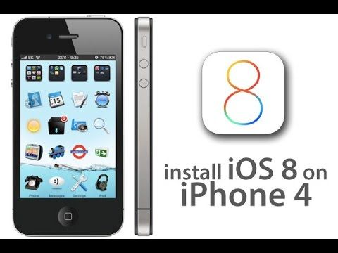 How to install ios 8 on iphone 4 Without Jailbreak Very Easy